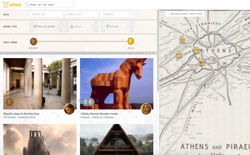 screenshot Airbnb Ancient Greece
