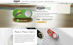 screenshot Amazon Dash Button