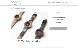 screenshot Analog Watch Co Companion Collection