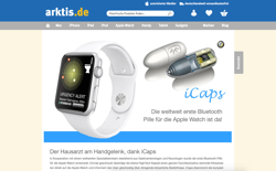 screenshot Arktis iCaps