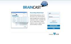 screenshot BrainCast