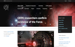 screenshot Cern Force