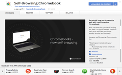 screenshot Self-Browsing Chromebook