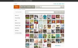 screenshot Etsy Explorer
