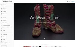 screenshot Google Arts: We Wear Culture