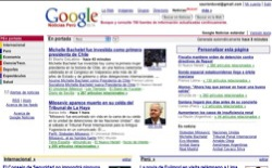screenshot Google Noticias Peru