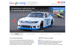 screenshot Google Racing