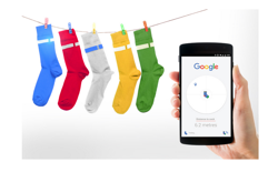 Google Search for your Socks