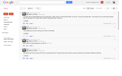 screenshot Google Voice for Pets