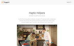 screenshot Google Haptic Helpers