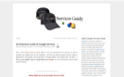 screenshot Google Services Guide