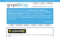 screenshot Grupo Blog