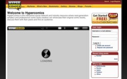 screenshot HyperComics