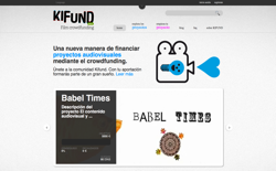 screenshot Kifund