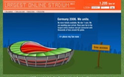 screenshot Largest Online Stadium