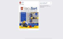 screenshot Lego VacuSort