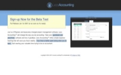 screenshot LessAccounting