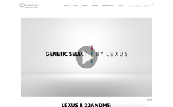screenshot Genetic Select by Lexus