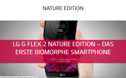 screenshot LG Nature Edition