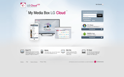 screenshot LG Cloud