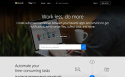 screenshot Microsoft Flow