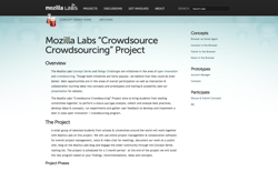 screenshot Mozilla Crowdsource Crowdsourcing