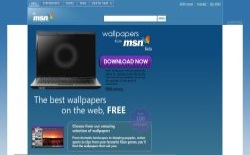 screenshot Wallpapers from MSN