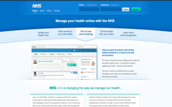 screenshot NHS.info