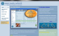 screenshot Open Media Network