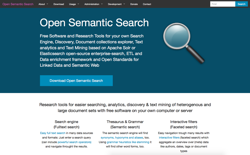 screenshot Open Semantic Search