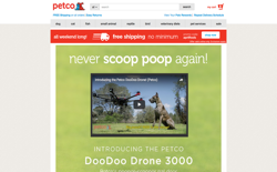 screenshot Petco DooDoo Drone