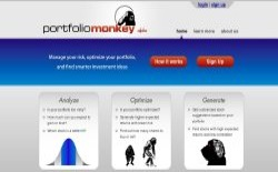 screenshot Portfolio Monkey