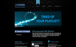 screenshot Recommend Me Music