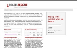 screenshot ResellRescue
