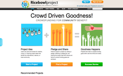screenshot Ricebowlproject