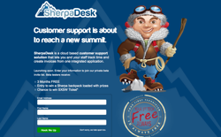 screenshot SherpaDesk