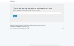 screenshot SocialScore