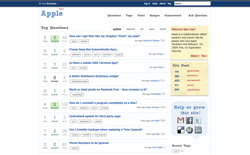 screenshot Apple Stack Exchange