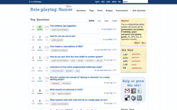 screenshot Stack Exchange Role-playing Games