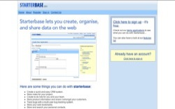 screenshot StarterBase