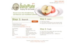 screenshot The Daily Plate
