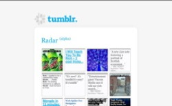 screenshot tumblr Radar