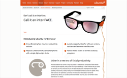 screenshot Ubuntu for Eyewear