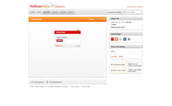 screenshot Wolfram|Alpha Chord Finder