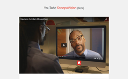 screenshot YouTube SnoopaVision